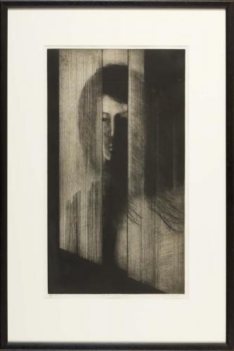 Girl at Window No.1