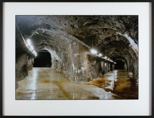 Twin tunnels, Manapouri Underground Power Station [from the series 'An Expanding Subterra']