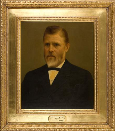 Portrait of John Duthie, Mayor