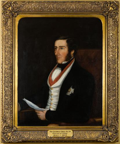 Portrait of Sir George Grey