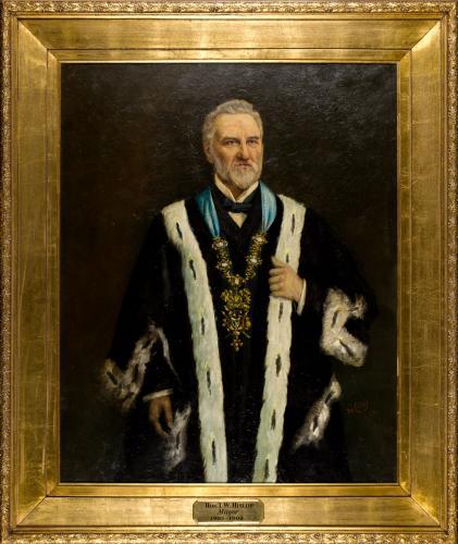Portrait of Thomas William Hislop, Mayo