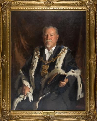 Portrait of Sir Charles Norwood, Mayor
