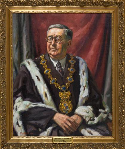 Portrait of Sir William Appleton, Mayor