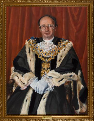 Portrait of Ian Lawrence, Mayor