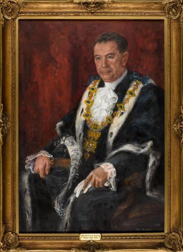 Portrait of Sir Francis Kitts, Mayor