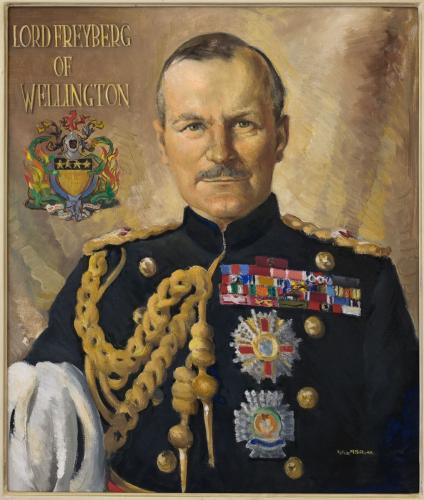 Portrait of Lord Freyberg of Wellington