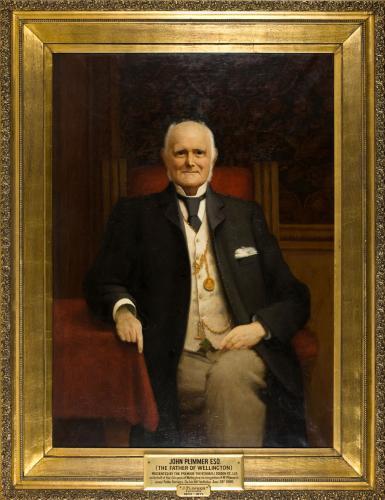 Portrait of John Plimmer