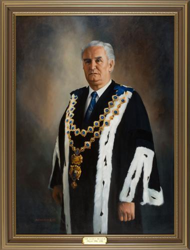 Portrait of Sir James Belich, Mayor