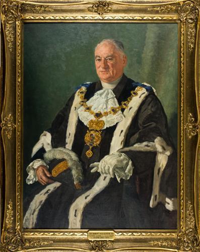 Portrait of Sir Robert Macalister, Mayor