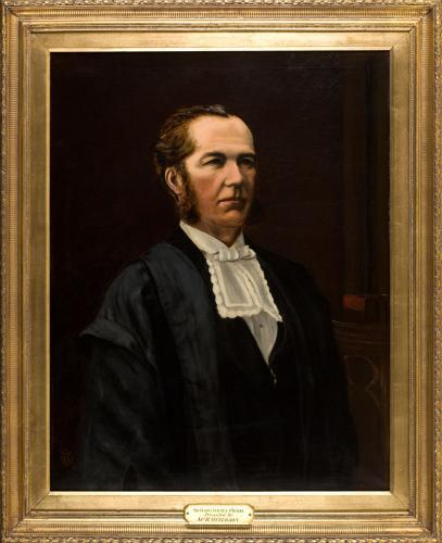 Portrait of Sir George Maurice O'Rorke