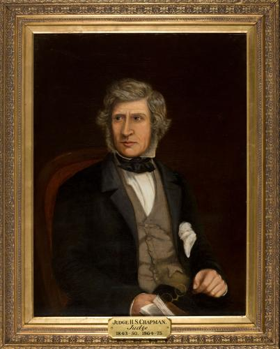 Portrait of Judge H S Chapman