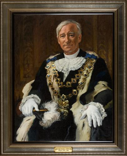 Portrait of Sir Michael Fowler, Mayor