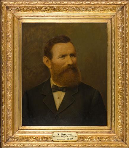 Portrait of Samuel Brown, Mayor