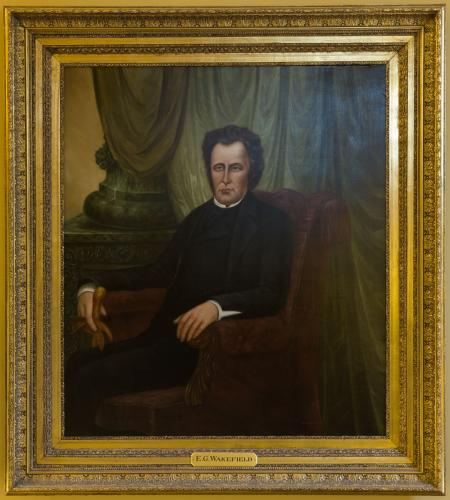 Portrait of Edward Gibbon Wakefield