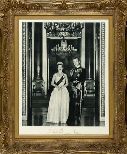 Portrait of Elizabeth R & Philip