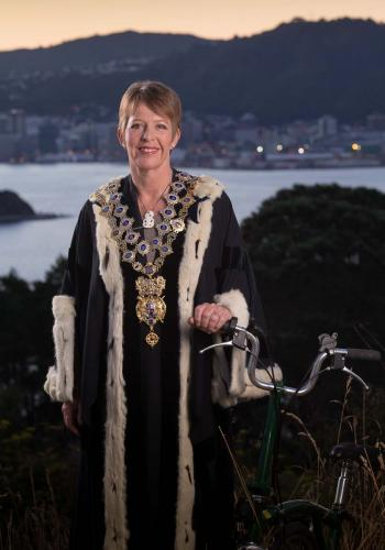 Portrait of Mayor Celia Wade-Brown