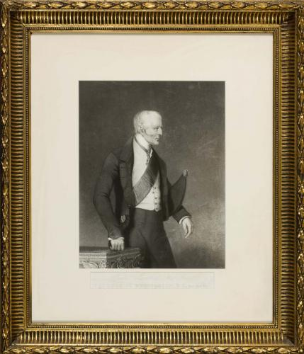 Portrait of Field Marshall, His Grace The Duke of Wellington K.G