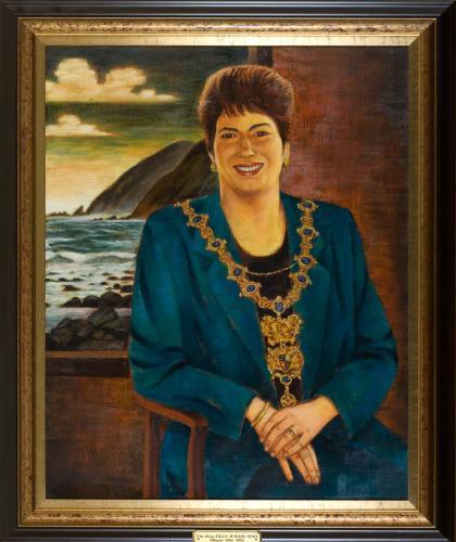 Portrait of Fran Wilde, Mayor